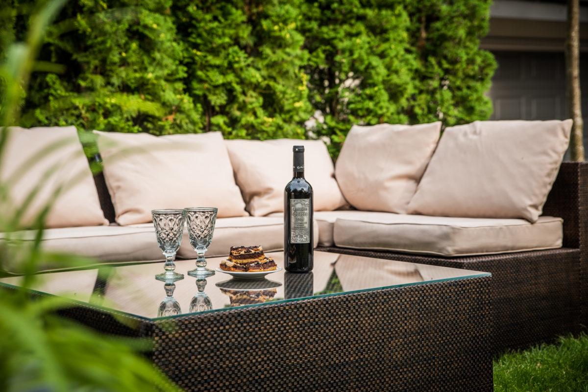 Sofa esquinero para 4 personas progresja fabricante for Sofa esquinero jardin
